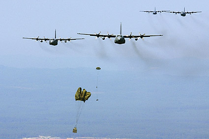 C-130 Hercules 37th Airlift Squadron Photo Print