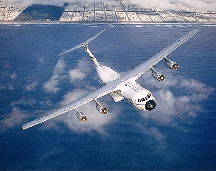 C-141 Starlifter in Flight Photo Print