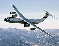 C-141 Starlifter in Flight US Air Force Photo Print for Sale