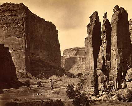 Cañon de Chelle in Grand Canyon 1873 Photo Print
