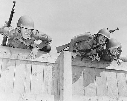 Camp Edwards, MA. Obstacle Course WWII Photo Print