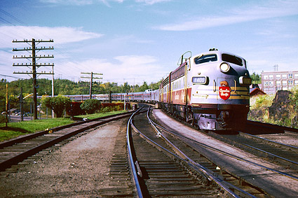 Canadian Pacific FP-7ABA Railroad Photo Print
