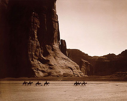 Canyon de Chelly Navajo Indians Edward S. Curtis Photo Print
