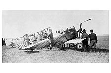 Capt. Harry Gwynne w/ Nieuport Flying Fish Photo Print for Sale