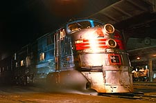 CB&Q Railroad 'Texas Zephyr' E-5A Train Photo Print for Sale
