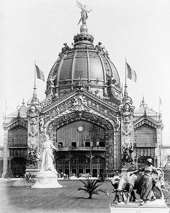 Central Dome at Paris Exposition 1889 Photo Print