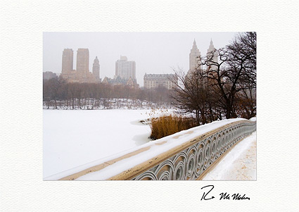Central Park Winter Boxed Holiday Cards