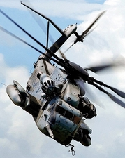 CH-53 / CH-53E Sea Stallion Helicopter Photo Print