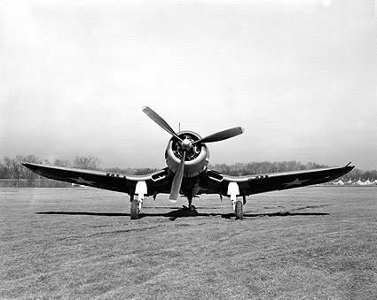 Chance Vought F4U Corsair WW2 Aircraft Photo Print