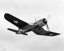 Chance Vought F4U Corsair WWII Aircraft Photo Print