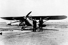 Charles Lindbergh & Ryan Airlines M-1 Photo Print for Sale