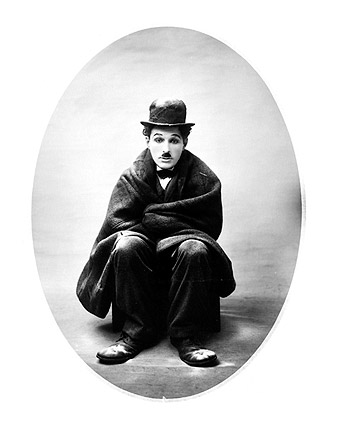 Charlie Chaplin Little Tramp Impersonation Photo Print