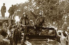 Camilo Cienfuegos & Fidel Castro in Havana Photo Print for Sale