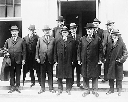 Chief Justice William Taft & Circuit Judges Photo Print