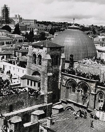 Church of Holy Sepulchre in Jerusalem 1920 Photo Print