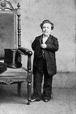 Circus Performer General Tom Thumb Photo Print for Sale