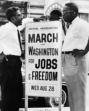 Civil Rights Era Sign for 1963 March on Washington Photo Print