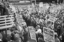Civil Rights March Washington D.C. 1963 Photo Print for Sale