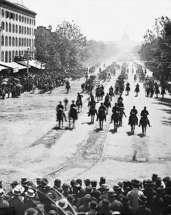 Civil War Army Review in Washington D.C. Photo Print