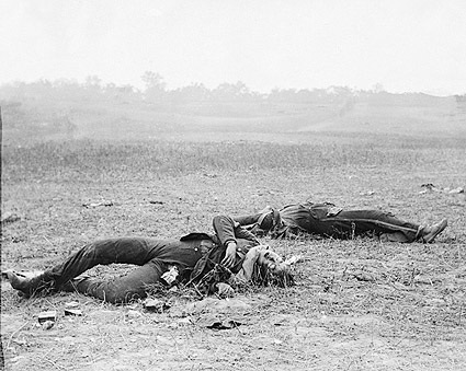 Civil War Confederate Casualties Antietam Photo Print