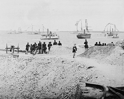 Civil War Federal Navy at Charleston 1865 Photo Print