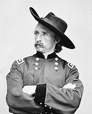 Civil War General George A. Custer Portrait Photo Print for Sale