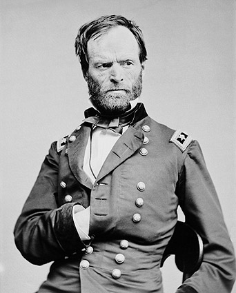 Civil War General William T. Sherman Photo Print