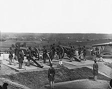 Civil War Heavy Artillery Fort Lincoln 1865 Photo Print for Sale