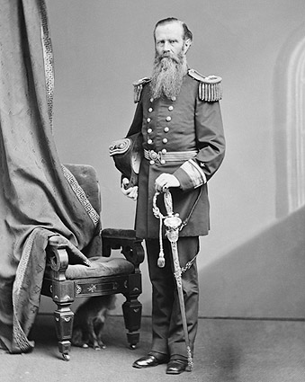 Civil War Monitor Admiral John L. Worden Photo Print