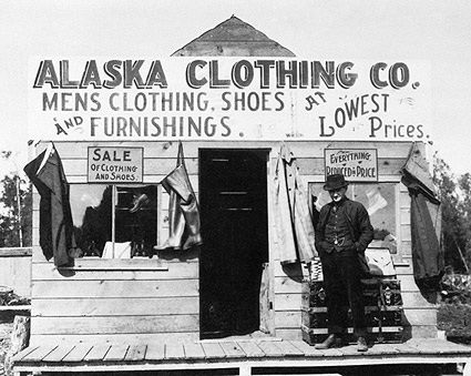 Clothing Store Anchorage Alaska Early 1900s Photo Print