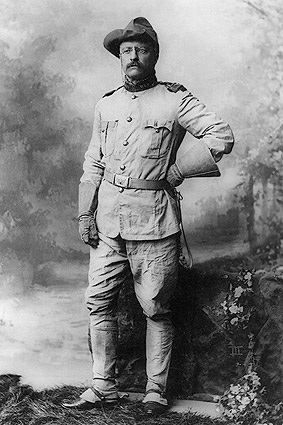 Col. Teddy Roosevelt Rough Riders Uniform Photo Print