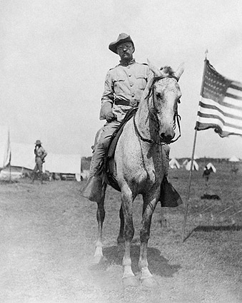 Colonel Theodore Roosevelt Rough Riders Photo Print