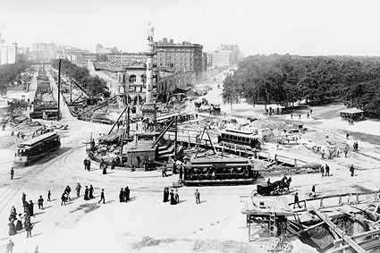 Columbus Circle New York City 1901 Photo Print