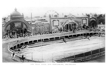 Coney Island 1908 Hippodrome at Dreamland Photo Print