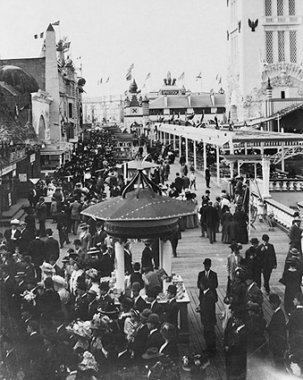 Coney Island Boardwalk New York City 1912 Photo Print