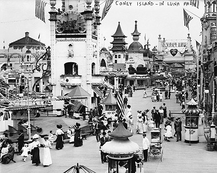 Coney Island Luna Park Brooklyn, New York Photo Print