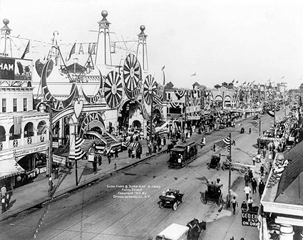 Coney Island Luna Park Entrance 1912 Photo Print