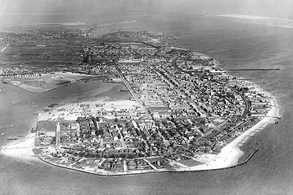 Coney Island, New York City Aerial View NYC Photo Print