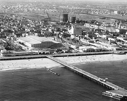 Coney Island Pier, New York City 1936 Photo Print