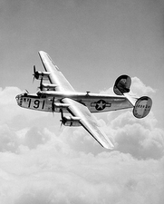 Consolidated B-24 Liberator Bomber Flight Photo Print