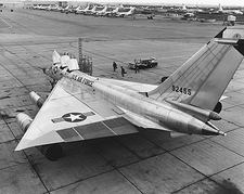 Convair B-58 Hustler Being Serviced Photo Print