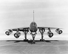 Convair B-58 Hustler Bomber Front View Photo Print for Sale