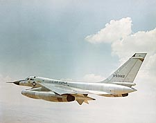 Convair B-58 Hustler Bomber in Flight Photo Print for Sale