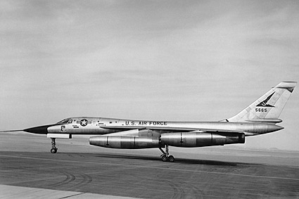 Convair B-58 Hustler Bomber Side View Photo Print