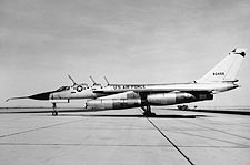 Convair B-58 Hustler Bomber Side View Photo Print for Sale