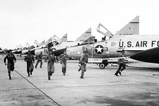 Convair F-102 Delta Dagger Flight Line Photo Print