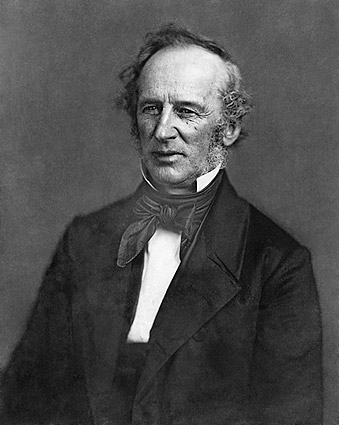 Cornelius Vanderbilt Portrait Photo Print