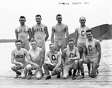 Cornell University Varsity Rowing Team 1911 Photo Print for Sale