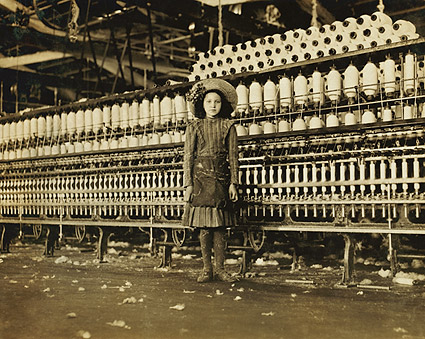 Cotton Mill Child Labor VA Lewis Hine 1911 Photo Print