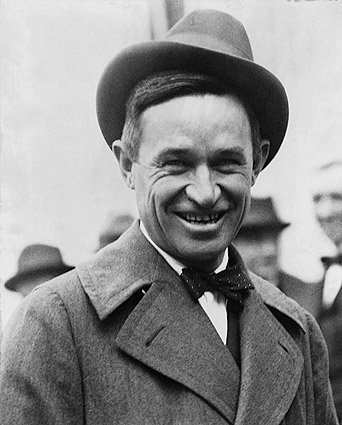 Cowboy Performer & Humorist Will Rogers Photo Print
